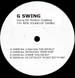 VARIOUS (LE MAJOR MELON  / JIMI BAZZOOKA / DJ BRAME /  COTTON KIDS) - G Swing EP