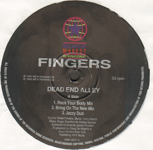 MR.FINGERS - Dead End Alley