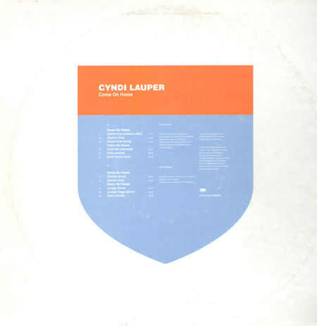 CYNDI LAUPER   Come On Home (Double Pack Promo) (Junior Vasquez Rmx)