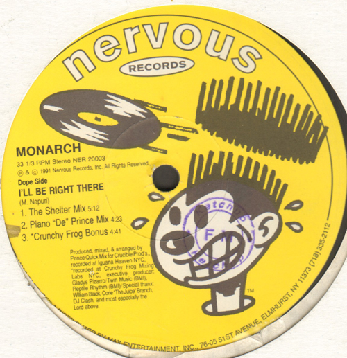 MONARCH - Forever Slammin' / I'll Be Right There
