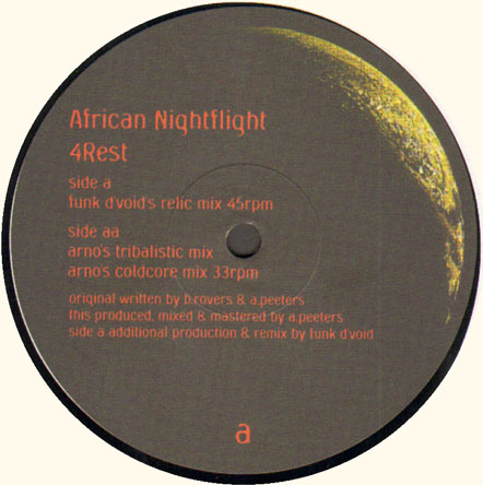 AFRICAN NIGHTFLIGHT - 4Rest (Funk d'Void Rmx)
