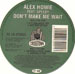 ALEX HOWIE - Don't Make Me Wait