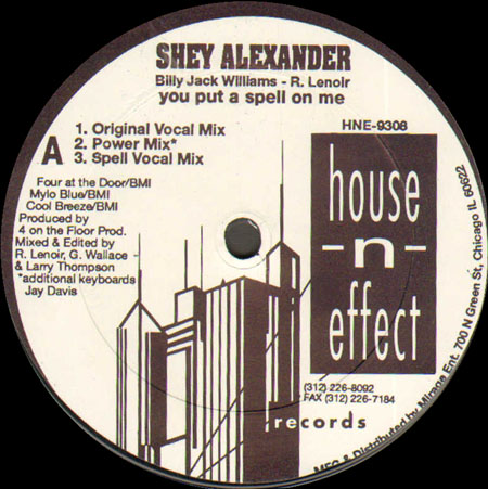 SHEY ALEXANDER - You Put A Spell On Me