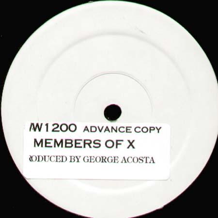 George Acosta - Members Of X