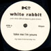 WHITE RABBIT - Take Me I'm Yours, Feat. Jane Birkin With Chris Difford