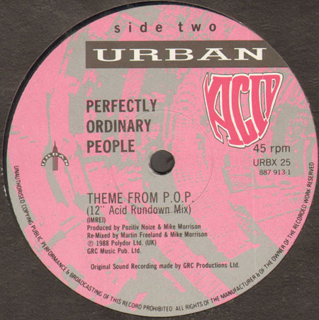 PERFECTLY ORDINARY PEOPLE - Theme From P.O.P. (Club Re-mix)