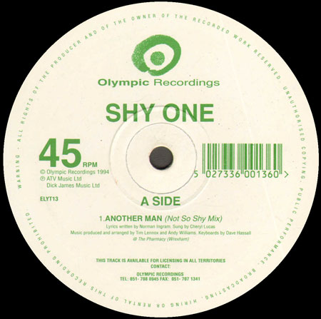 SHY ONE - Another Man (Matthew Roberts Mix)