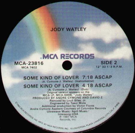 JODY WATLEY - Some Kind Of Lover