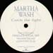 MARTHA WASH - Catch The Light (Oracles Mixes)