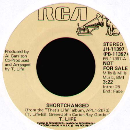 T. LIFE - Shortchanged