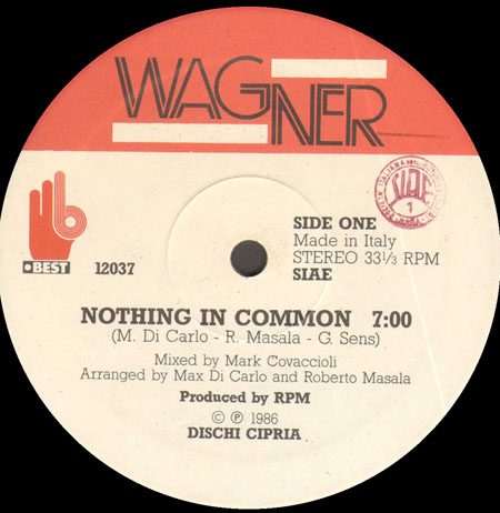 WAGNER - Nothing In Common