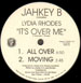 JAHKEY B - It's Over Me, Feat. Lydia Rhodes