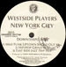 WESTSIDE PLAYERS - New York City