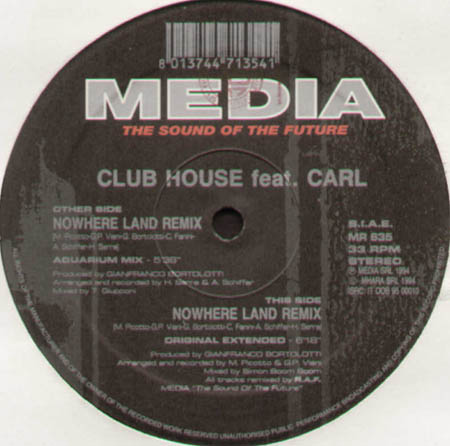 CLUB HOUSE - Nowhere Land (Remix) - Feat. Carl