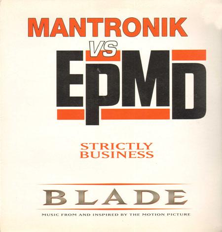 Mantronik Vs Epmd Strictly Business Playland Vinyl 12 Inch