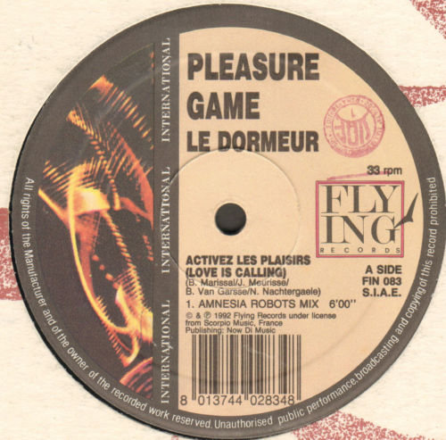 PLEASURE GAME LE DORMEUR - Activez Les Plaisirs (Love Is Calling)