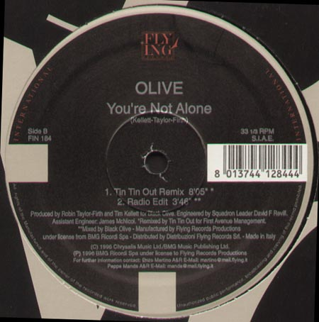 OLIVE - You're Not Alone (X-Press 2 Rmx)