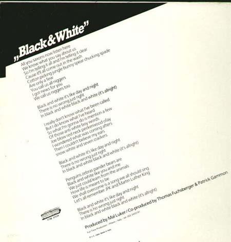Patto Black And White 12