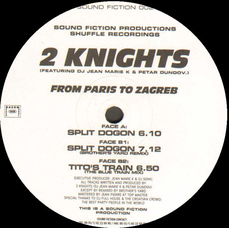 2 KNIGHTS - From Paris To Zagreb