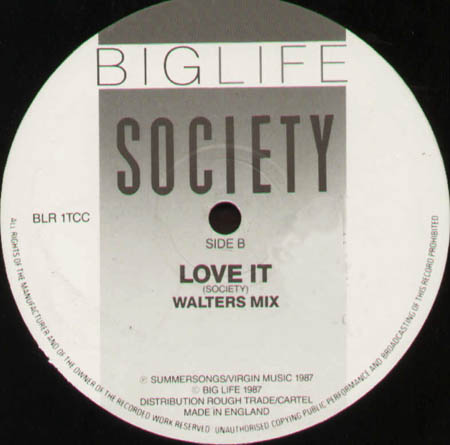 SOCIETY - Love It (Coldcut Mix)