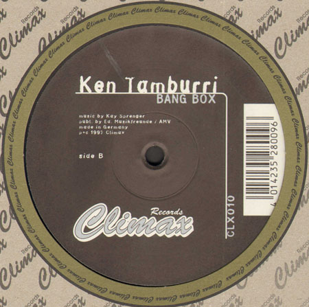 Ken Tamburri - Bang Box