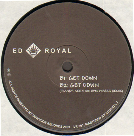 ED ROYAL - Tip to a music,  Get down