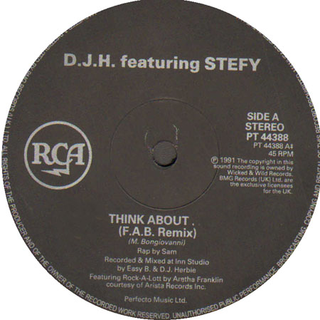 DJ H. FEAT. STEFY - Think About