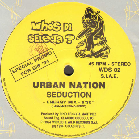 2 TIMES / URBAN NATION - In The Morning / Seduction