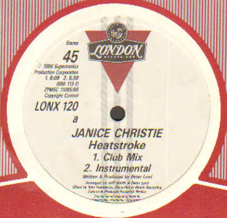 JANICE CHRISTIE - Heat Stroke (Mixed By Larry Levan, Tony Humphries)