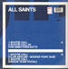 ALL SAINTS - Bootie Call (Club Asylum, Dreem Teem Rmxs)