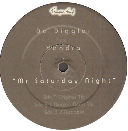 DA DIGGLAR - Mr Saturday Night, Feat. Xandra