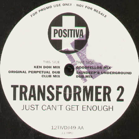 Transformer 2 - Just Can't Get Enough '95 (Special DJ Summer Edition)