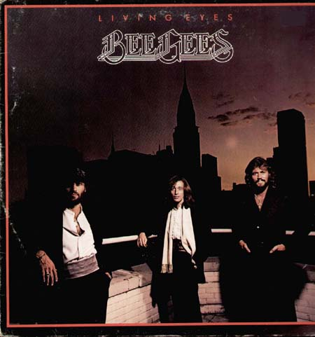 Bee Gees Living Eyes Rso Vinyl Lp 2394 301