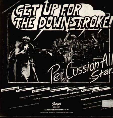 PER CUSSION ALL STARS - Payin' The Price! / Get Up For The Downstroke