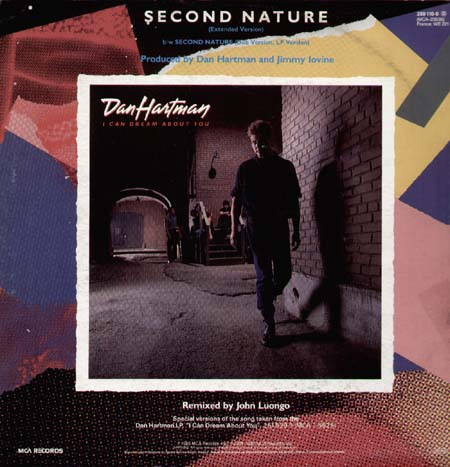 DAN HARTMAN - Second Nature