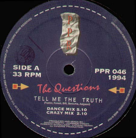 THE QUESTIONS - Tell Me The Truth