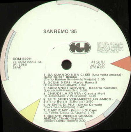 Сан Ремо 85 Скачать Торрент - фото 9