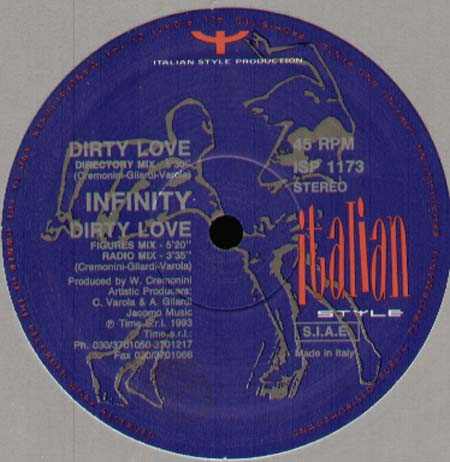 INFINITY - Dirty Love
