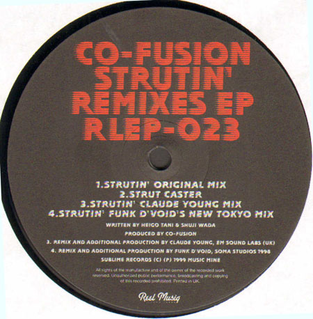 Co-Fusion - Hot! Hot! (Love To Heart) (Remixes)