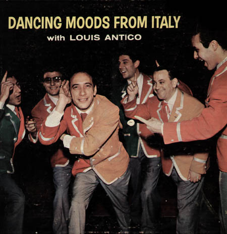 LOUIS ANTICO - Dancing Moods From Italy
