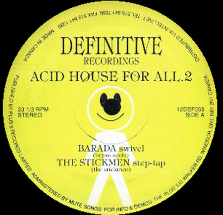 Various acid house for all 2 definitive vinyl 12 inch for Acid house records