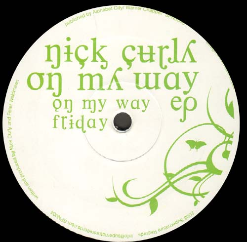 NICK CURLY - On My Way EP