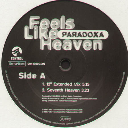 PARADOXA - Feels Like Heaven