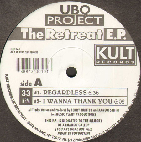 UBQ PROJECT - The Retreat Ep