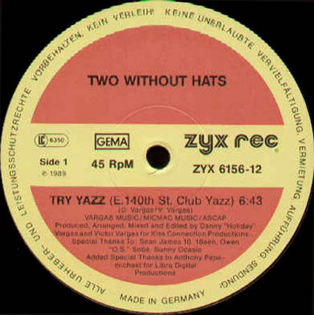 TWO WITHOUT HATS - Try Yazz