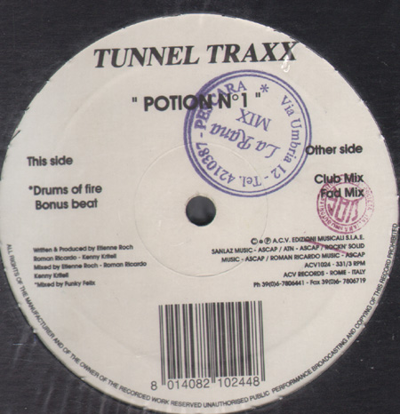 TUNNEL TRAXX - Potion No. 1