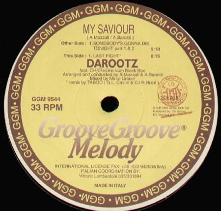 Darootz Feat. Charvoni - My Saviour