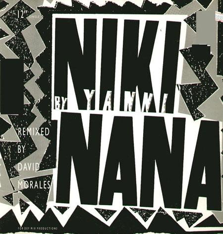 YANNI Niki Nana (David Morales Rmx) Private Music Vinyl 12