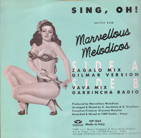 MARVELLOUS MELODICOS - Sing, Oh!