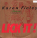 KAREN FINLEY - Lick It!